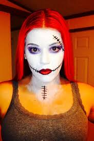 sally makeup from nightmare before sephoraselfie