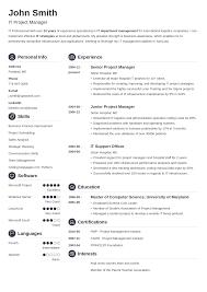 Perfect Resume Template Resume Template Resume Template Download Free Career Resume Template 13