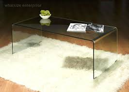 curved glass coffee table nz with shelf