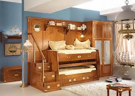 Kids Bedroom Sets With Desk Space Saver Loft Bed Furniture Twin Beds With Desk Bedroom Teak