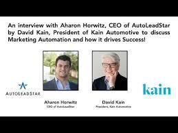 David Kain interviews Pete MacInnis, CEO of ElendSolutions about Online  Automotive Finance - YouTube