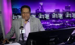 Conservative radio host Larry Elder ...