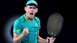 Alex de minaur is an australian professional tennis player. Alex De Minaur S Racquet Tennisnerd Net