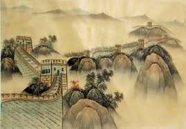 chinese paintings great wall great wall 30cm x 40cm 12 x 16 1336005