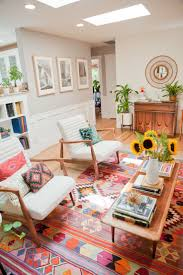 best 25 mid century rug for decorating using colorful rugs for living room in mid century home