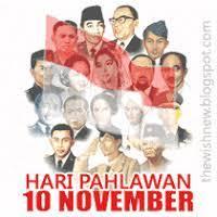 Hari Pahlawan 10 November Dp Bbm Animasi Terbaru Versi Photoshop 10 Things Foto Lucu Kartun