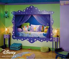 Paint Colours For Girls Bedroom Cute Disney Themed Teenage Bedroom Design Idea For Girl With