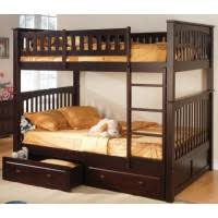 Full over Bunk Bed - Espresso Adult Beds For Adults