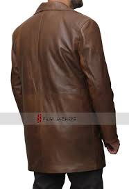 men s brown trench coat