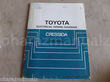 toyota cressida 1984 toyota cressida electric wiring diagrams manual oem