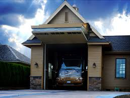 bi fold garage doorsBeautifully Hidden Highly Functional Korthius RV Lift Strap Bi