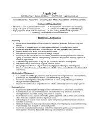 Resume Skills For Customer Service Resume