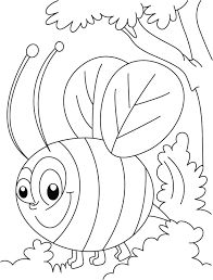 Small Picture Honey bee busy in squeeze coloring pages Download Free Honey bee