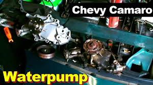 chevrolet camaro v waterpump replacement 1995 chevrolet camaro v6 waterpump replacement