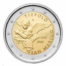 2€ commemorativo 2020