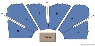 Grand Event Center Seating Chart Grand Casino Hinckley Event Center Seating Chart
