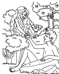 Small Picture Printable Adam and Eve Coloring pages Coloring Me