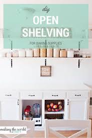 Open Shelving Kitchen Kitchen Open Shelving