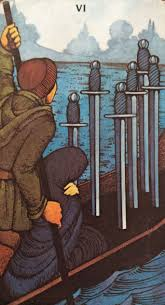 Image result for 6 of swords