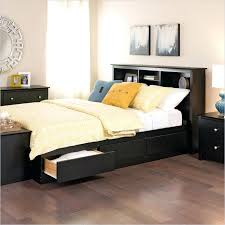 Twin Xl Platform Bed Frame Twin Platform Bed With Bookcase Headboard ...