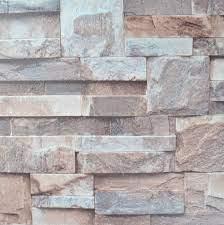 3d Embossed Brick Wallpaper