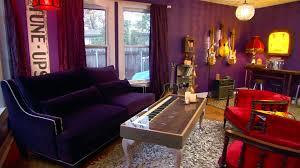 Rock N Roll Bedroom Purple Decorating Ideas Pictures Hgtv