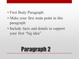 paragraph essay ppt video online  3 paragraph