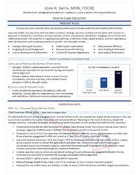 Executive Resumes Templates Magnificent Executive Resume Templates Samples Professional 48 48 Best Images On