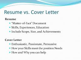 Cover Letter Vs Resume Cover Letter Vs Cv Experience Resumes Awesome
