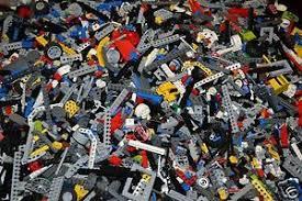 Lego Technic Bulk Lot 1000 Random Pieces Lift Arms Gears More