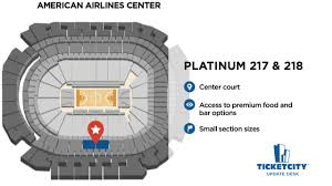 Nytex Sports Centre Seating Chart American Airlines Center Seat Recommendations The Ticketcity Update Desk