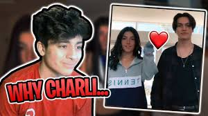 CHARLI D'AMELIO got a boyfriend | Chase Hudson/Lil Huddy😭 (My Reaction) -  YouTube