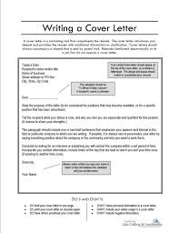 What Does Cover Letter For Resume Consist Of Idea Should How Look It