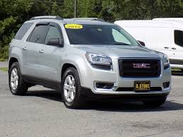 gmc acadia 2015 silver. 2015 gmc acadia sle suv silver 5 door gasoline awd automatic gmc t