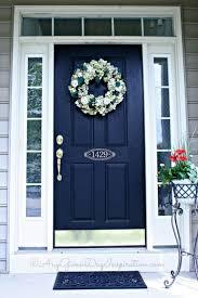 Coral Front Door Best 25 Navy Front Doors Ideas On Pinterest Coral Door Front