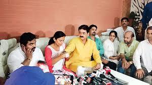 Gujarat Bjp Mla Balram Thawani Apologises Gets Rakhi From Victim