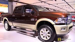 dodge ram 2500 2015. Plain 2015 2015 RAM 2500 Laramie Longhorn Turbo Diesel  ExteriorInterior Walkaround  Montreal Auto Show YouTube Throughout Dodge Ram 2