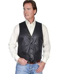 scully premium lamb leather vest 122 29