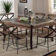 metal kitchen table. Metal Dining Tables And Chairs Regarding Wood Table Decorating Design Ideas Pictures Plan 8 Kitchen L