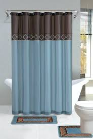 brown shower curtains. Modren Brown Elegant Grey Bathroom Shower Curtains Blue And Brown Curtain With  Rug Toilet On Brown Shower Curtains T