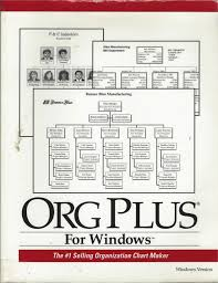 Org Chart Plus Software Org Plus For Windows The 1 Selling Organization Chart