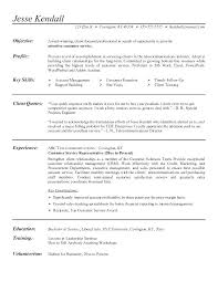 Customer Service Job Objective Resume