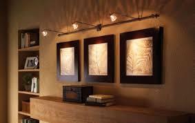 lighting frames. Frames Neatness Structuring So Elegance Square Wooden Materials Wall Track Light Lovely Interior Design Artwork Display Lighting