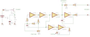 simple delta wave generator circuit diagram