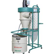 1-1/2 HP 2 Stage Cyclone Dust Collector ...