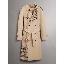 w2c w2c kris wu x burberry trench coat