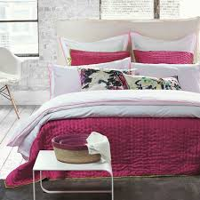 designers guild astor peony and pink duvet cover collection