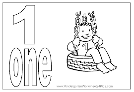 coloring pages number book 1