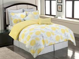 blue and yellow bedspread image of light grey comforter king red