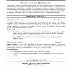 Nice Apartment Manager Resume Template Component Documentation